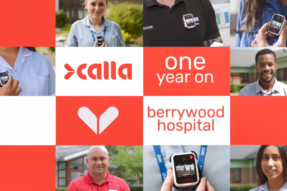 One year on with Calla body cameras at Northamptonshire Healthcare NHS Foundation Trust