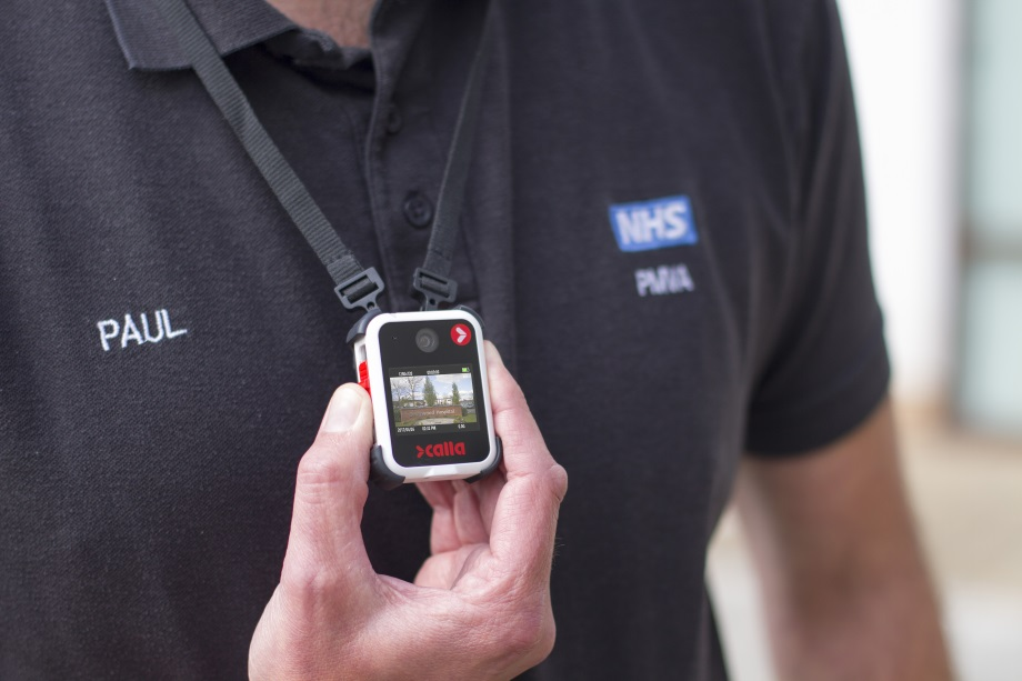 Northampton Healthcare  NHS Foundation Trust release  paper outlining positive  feedback from using body  cameras in inpatient setting