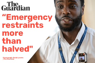 """Guardian reports body cameras for NHS staff are a """"win-win"""""""